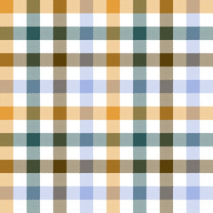 Colored check seamless fabric texture