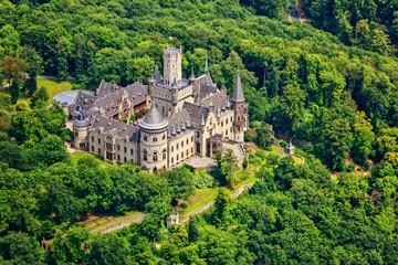 Schloss Marienburg aus der Luft