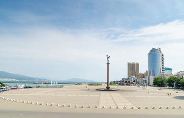 Novorossiysk. The Shore Promenade behalf of Admiral Serebryakov.