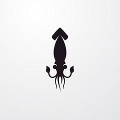 squid icon illustration
