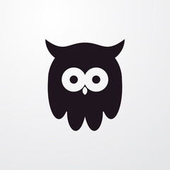 owl icon illustration