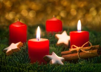 Zweiter Advent an Weihnachten