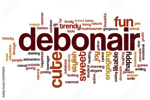 debonair word cloud stockfotos und lizenzfreie bilder auf bild 125941656. Black Bedroom Furniture Sets. Home Design Ideas
