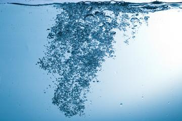 Water, drops, sprays, splashes, stream, flow, abstraction, minim