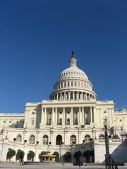 U. S. Capitol Building in autumn