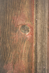 Weathered Barn Wall Wood Grain Plank Red Knot