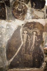 Ancient Petroglyphs Cliff Drawings Ginko Petrified Forest Washington