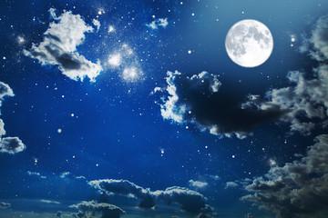 nasa night sky mezza luna - photo #6