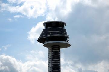 Control tower at Arlanda airport. Stockholm, Sweden