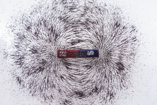 iron filings show magnetic field lines. Science Magnetic Field. Physics magnetic field
