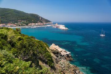 Elba Felsküste bei Marciana Marina