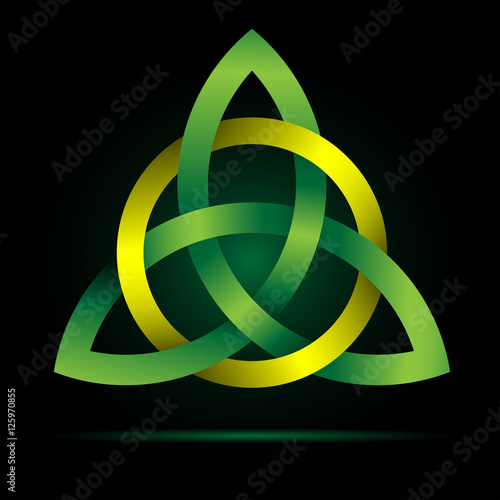 Triquetra Celtic Trinity Knot Traditional Irish Cross Christian