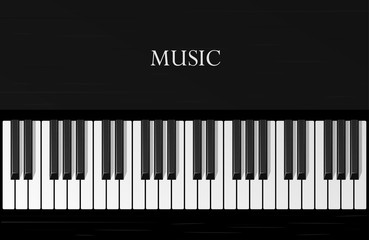 piano, musical instrument, vector