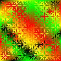 abstract reggae background