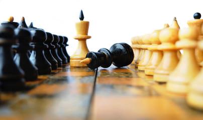 Шахматные короли после поединка