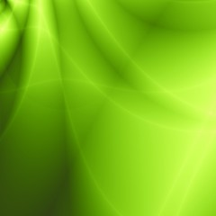 Leaf nice abstract green wave background