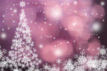 christmas tree,snowflakes