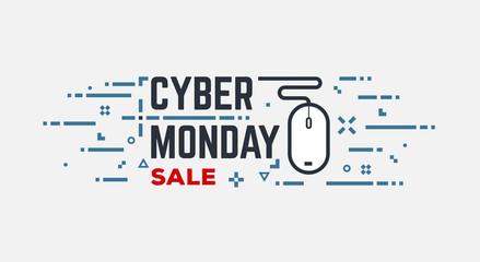 Cyber monday banner
