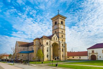 Wall Mural - St Michael's Roman Catholic Cathedral  in Alba Iulia, Transylvania, Romania