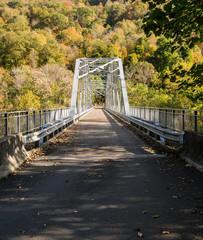 Wall Mural - Old Fayette Station bridge in West Virginia