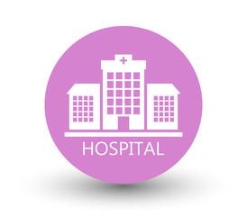 icon hospital building