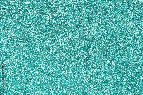 Glittery Teal Turquoise Aqua And Mint Color Glitter Sparkle Confetti Texture Background Or Flyer