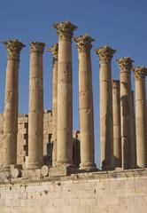 Ruins city of Jerash in Jordan