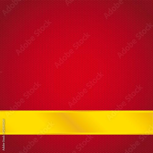 Sfondo Rosso Astratto Con Striscia Dorata Stock Image And Royalty