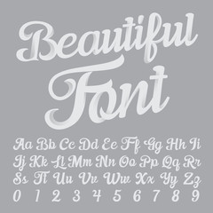 Beautiful Font
