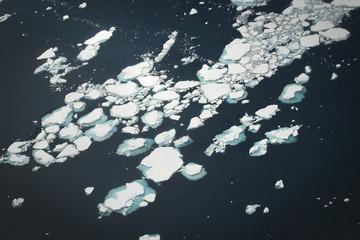 Pack ice in Antarctica