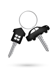 real steel house home and car key