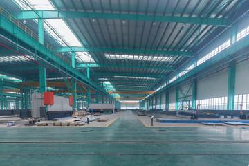 Steel plant workshop