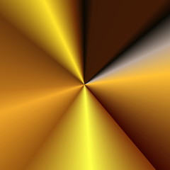 gradient abstract retro striped golden  background