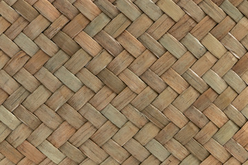 traditional thai style pattern nature background of brown handic