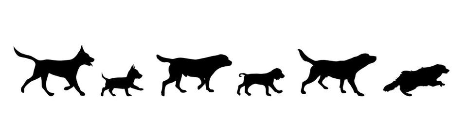 Vector illustration of dog.