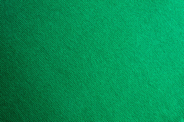 Emerald knitted woolen fabric texture