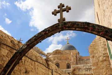 Grabeskirche in Jerusalem.Israel