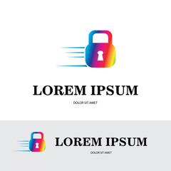 lock icon logo