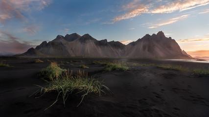 stokksnes at sunrise