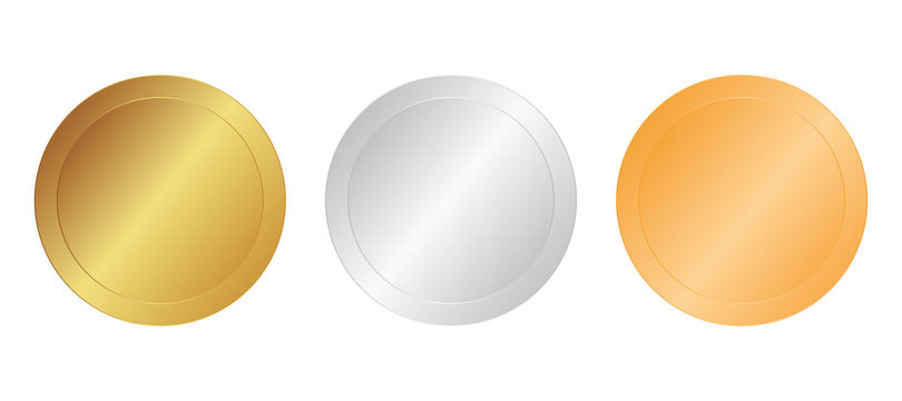 Gold, Silber, Bronze