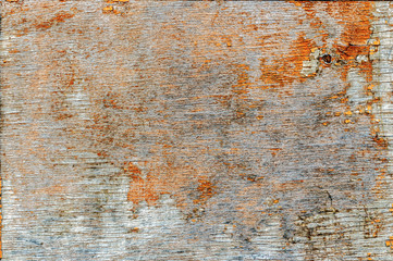 Old and worn paint on wood background. Abstract background.