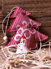 Alberello di Natale in tessuto
