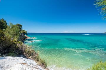 Greek Coastline.