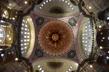 Yavuz Sultan Selim Mosque with historical architecture