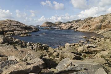 Sea view at  Lindesnes, Norway