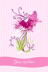 flower card new 7