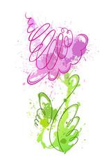 flower of blots