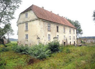 Old manor house  Nereta, Latvia