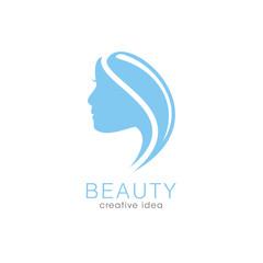 Creative Beauty Spa Women Concept Logo Design Template