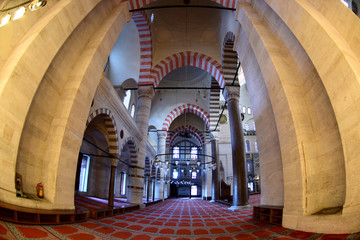 Yavuz Sultan Selim Mosque with historical architecture